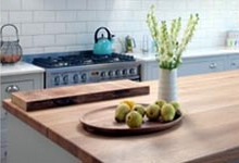 Solid wood kitchen worktops London