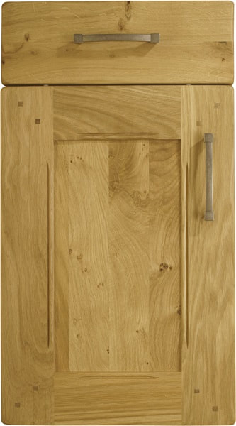Burbidge Kitchen Arundel Character Classic Traditional Natural Oak Timber Beaded Tongue Groove Shaker Door