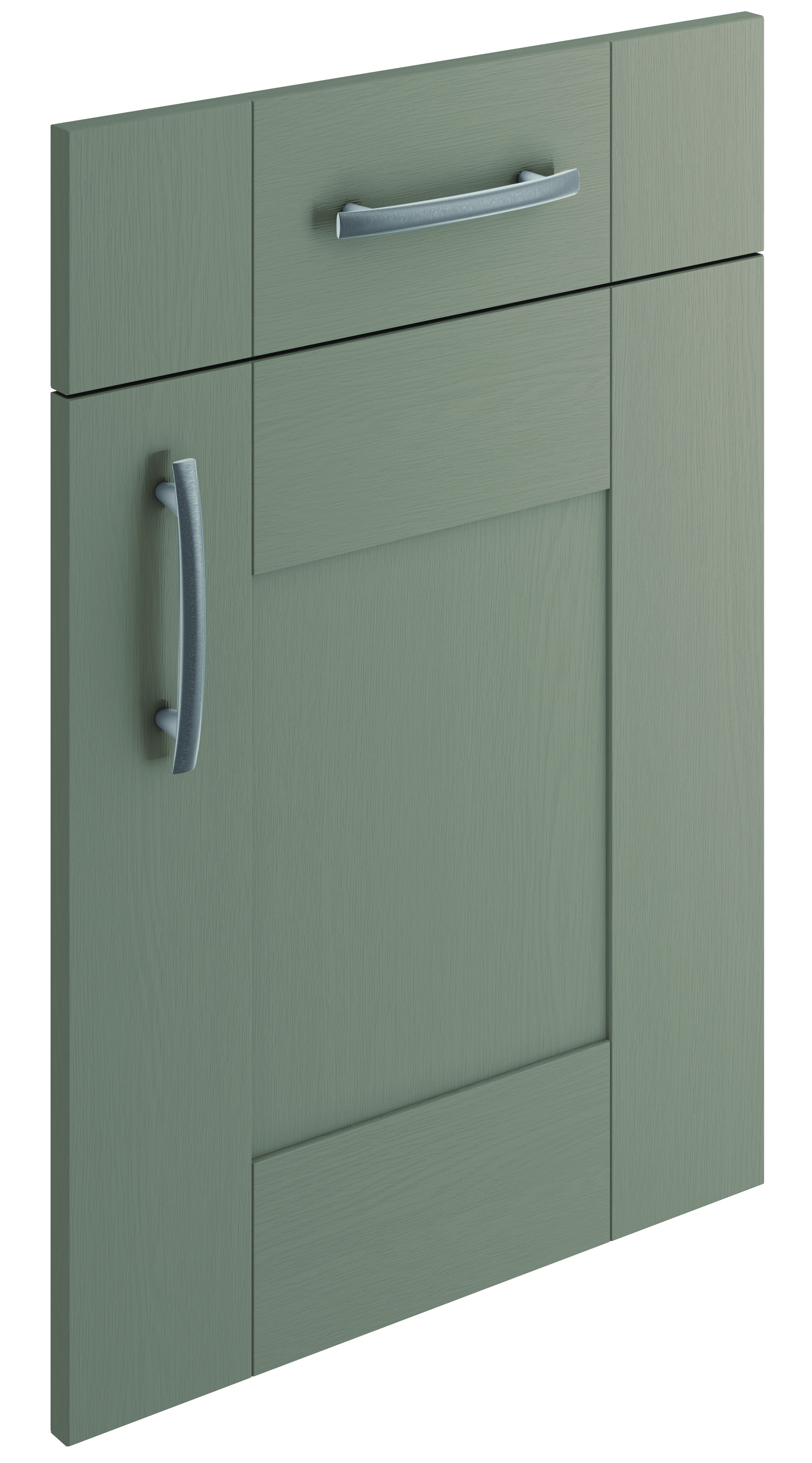 Mirano Cartmel Kitchen Painted Traditional Classic Timber Oak Matte Brown Grey Tongue Groove Shaker Door
