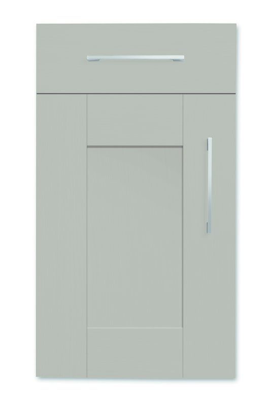Mirano Richmond Kitchen Painted Traditional Classic Timber Oak Matte Brown Grey Tongue Groove Shaker Door