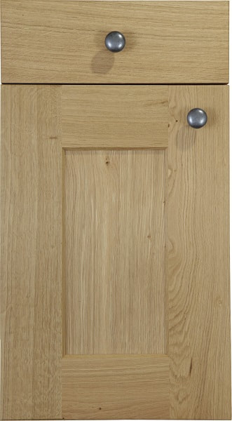 Burbidge Kitchen Erin Character Classic Traditional Natural Oak Timber Beaded Tongue Groove Shaker Door