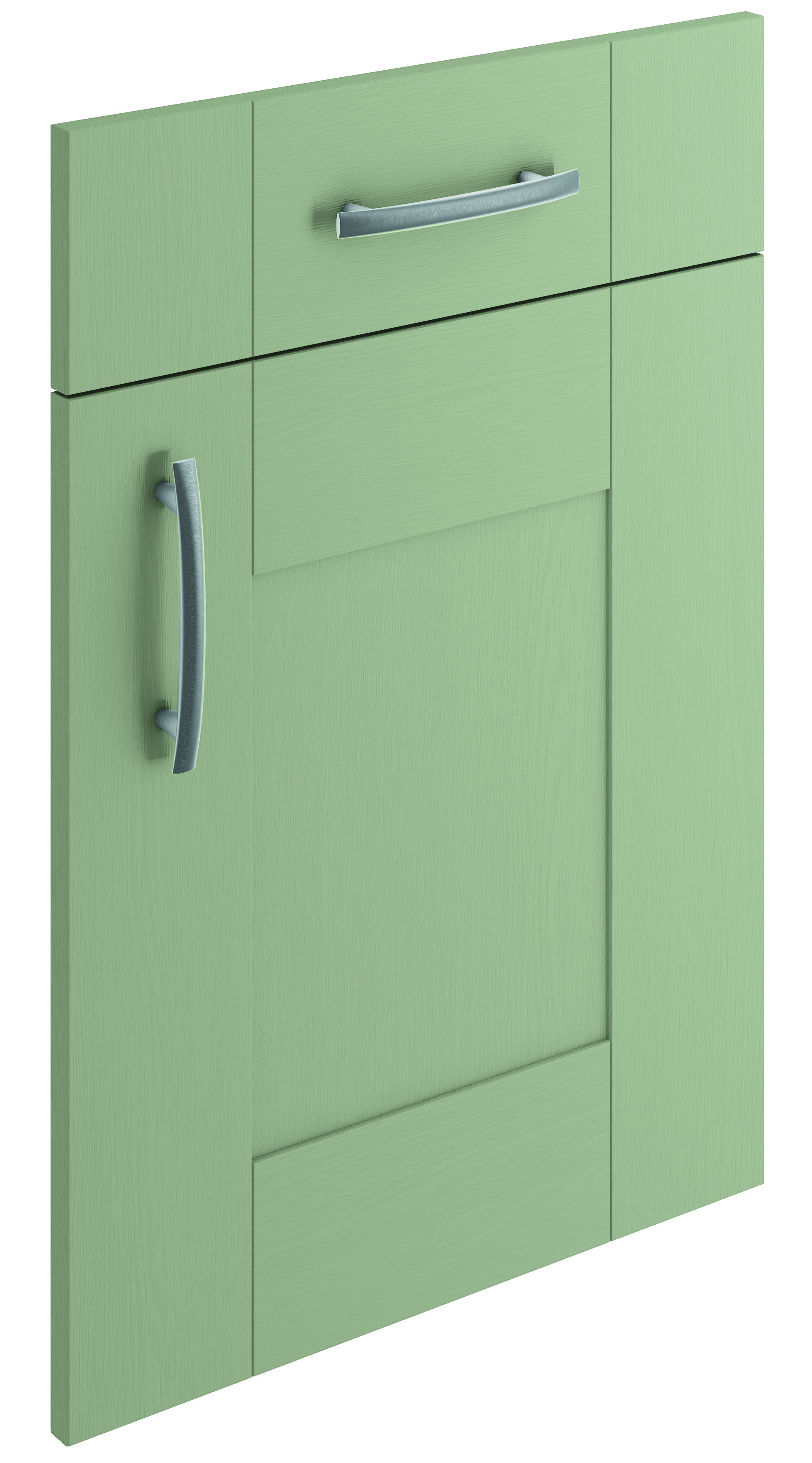 Mirano Cartmel Kitchen Painted Traditional Classic Timber Oak Matte French Grey Tongue Groove Shaker Door