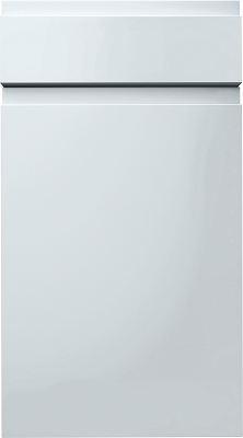 Burbidge Kitchen Modern Contemporary Malmo J Handle Handleless Slab Door Gloss Light Grey