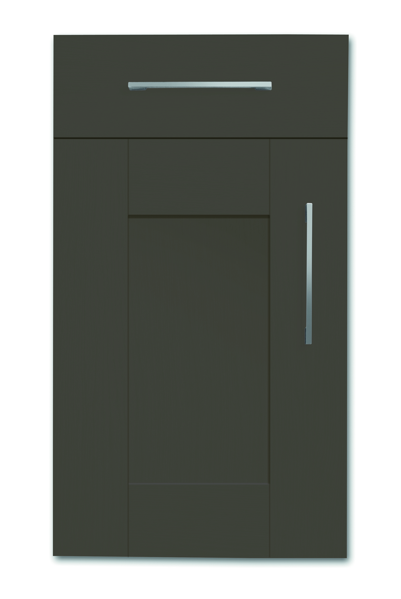 Mirano Richmond Kitchen Painted Traditional Classic Timber Oak Matte Lava Tongue Groove Shaker Door