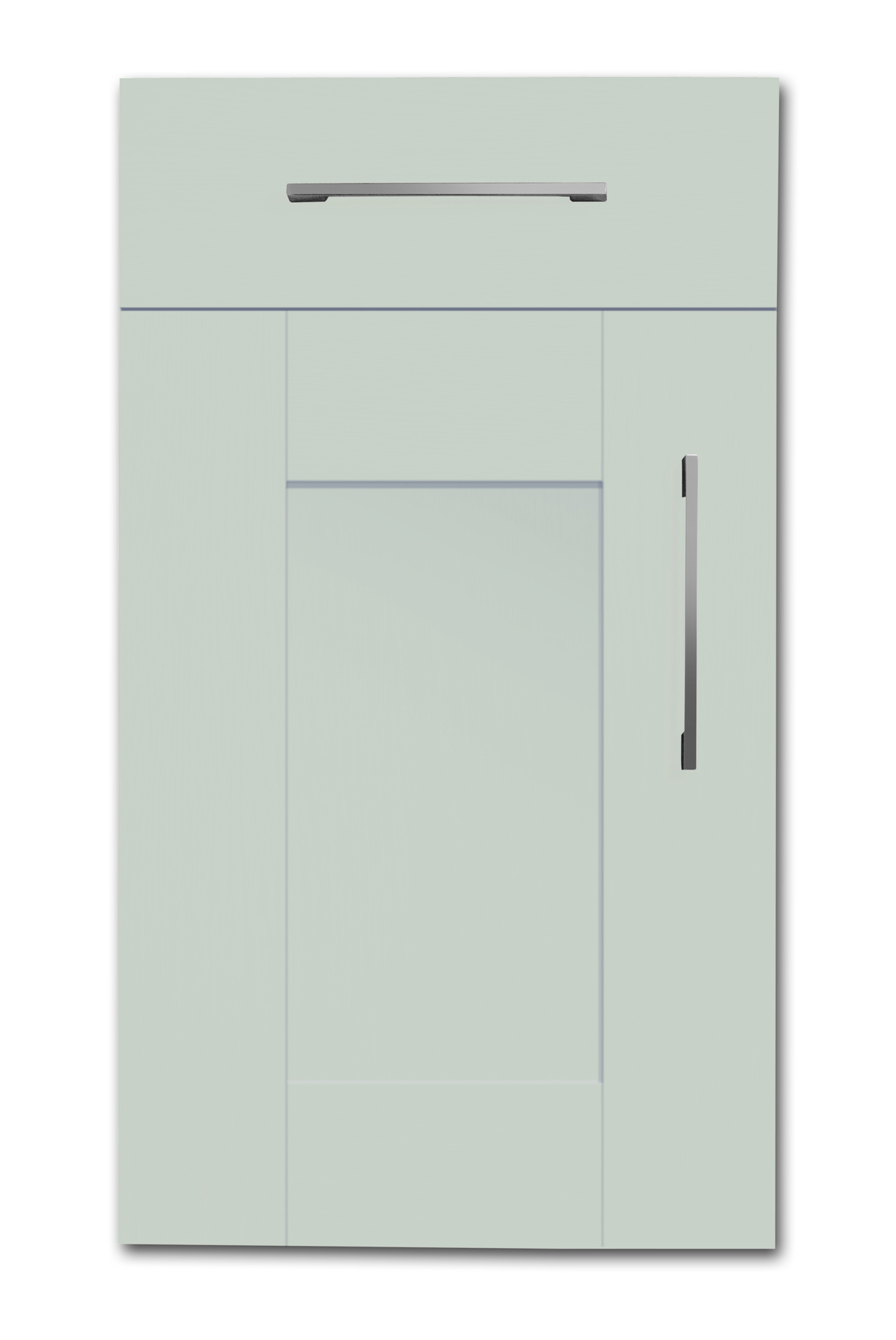 Mirano Richmond Kitchen Painted Traditional Classic Timber Oak Matte Light Grey Tongue Groove Shaker Door