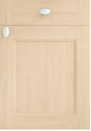 Mirano Kitchen Windsor Natural Classic Traditional Natural Oak Timber Beaded Tongue Groove Shaker Door