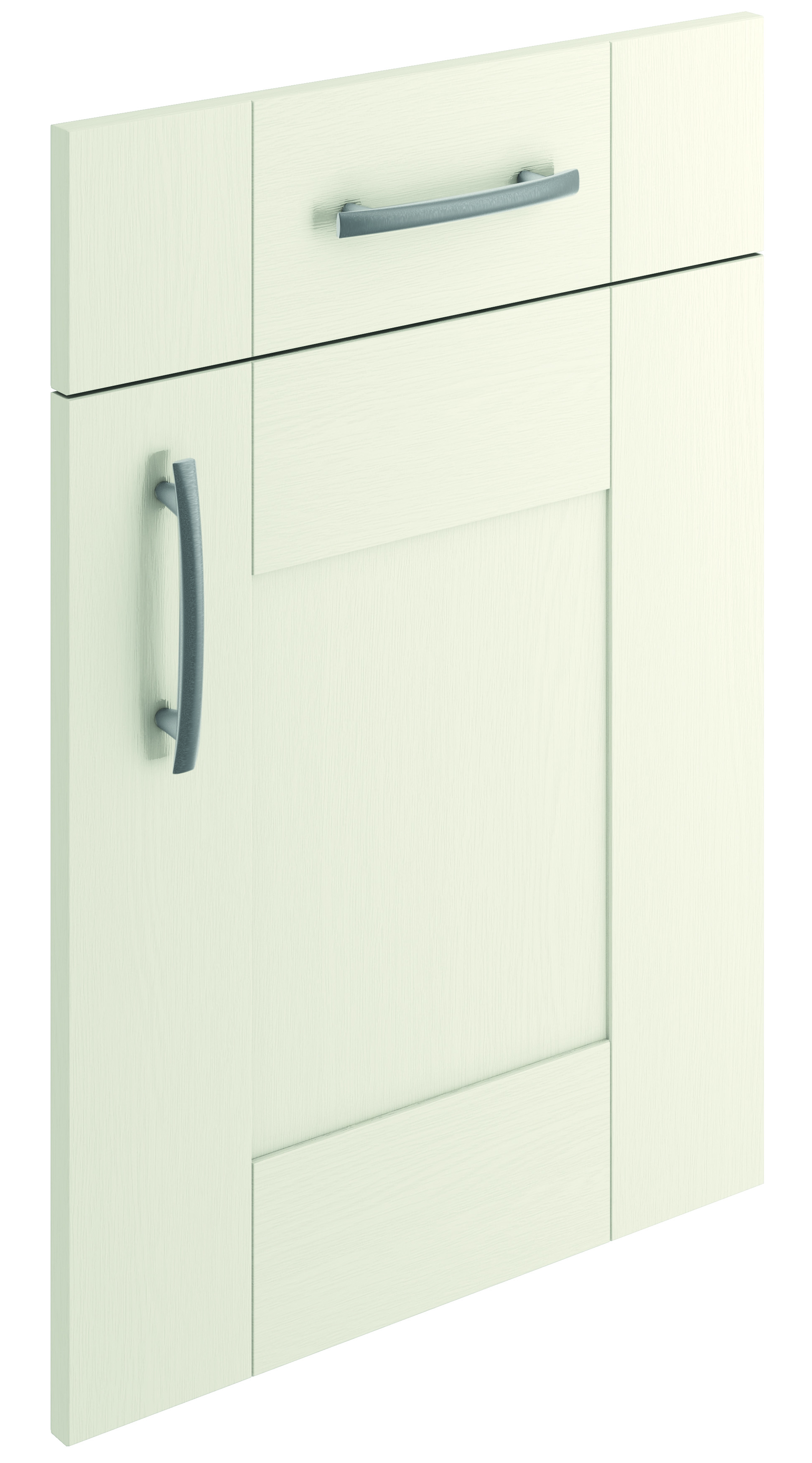 Mirano Cartmel Kitchen Painted Traditional Classic Timber Oak Matte White Tongue Groove Shaker Door