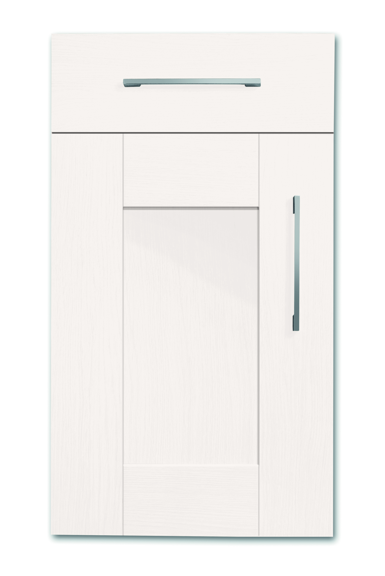 Mirano Richmond Kitchen Painted Traditional Classic Timber Oak Matte White Tongue Groove Shaker Door