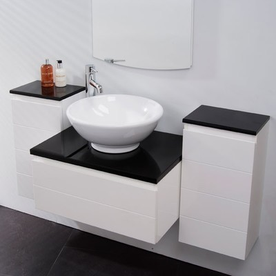 Dupont Corian Acrylic Solid Surface Moulded Undermount Over Under Mount Inset Basin Vanity Sink Wash Top Mounted