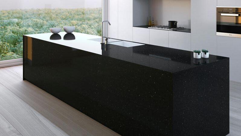 Silestone Quartz Solid Surface N-Boost Technology Kitchen Worktop Counter