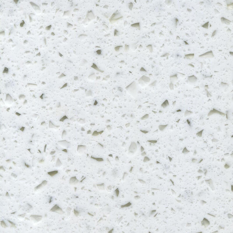 Hanex Solid Surface Worktop Oslo White B-012