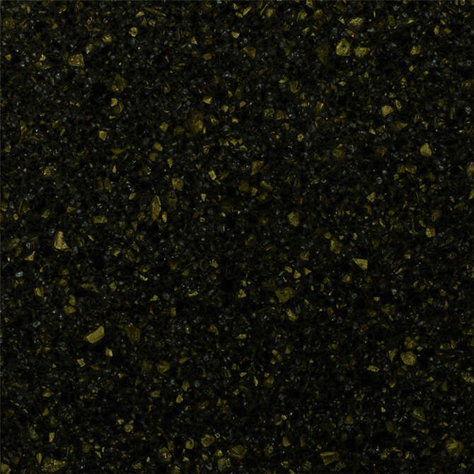 Gold Leaf Tempest Staron Acrylic Solid Surface